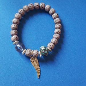 SINGLE Wing Bracelet.